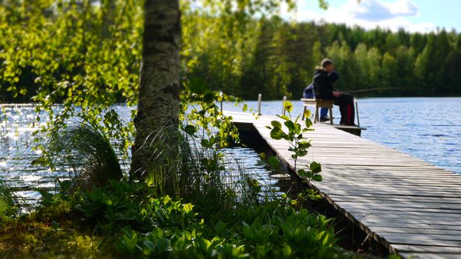 フィンランドのある夏の日