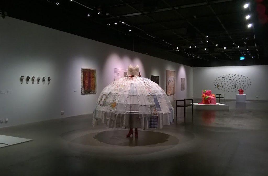 テキスタイル展:Johtolanka 解決への糸口